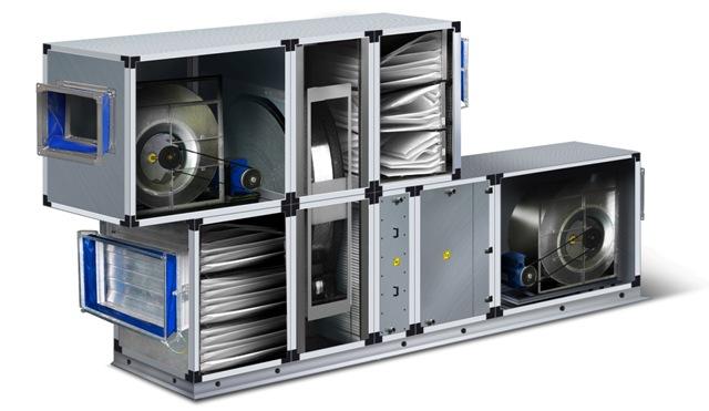 П1 Установка приточная П1 VKC-S-20-GSsF4H2H1VsG-R с автоматикой